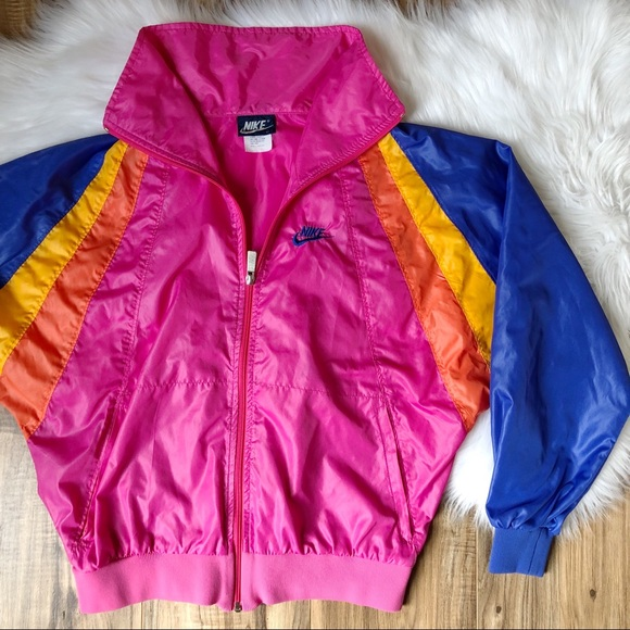 39c5d31af Nike Retro Color Block Windbreaker Running Jacket